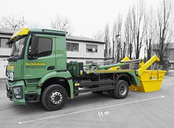 Absetzkipper von Bloching, Containerdienst für den Großraum Stuttgart