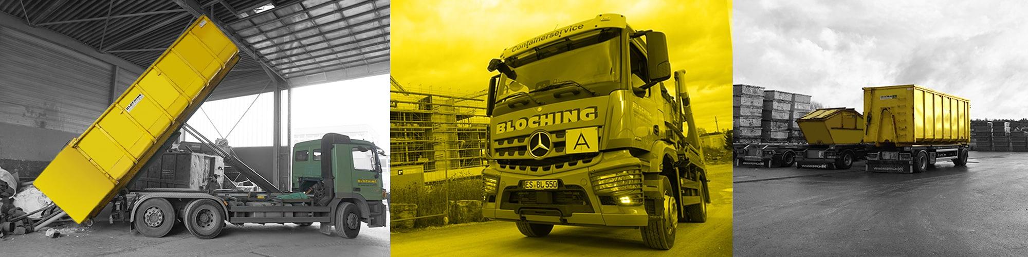 Containerdienst Bloching